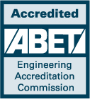 Accredited ABET Engineering Accreditation Commission Logo