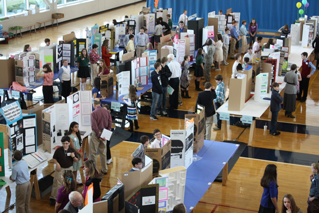 COE hosts 59th Annual NARSEF (Science Fair) and Honeywell Leadership Program Students (3/2013)