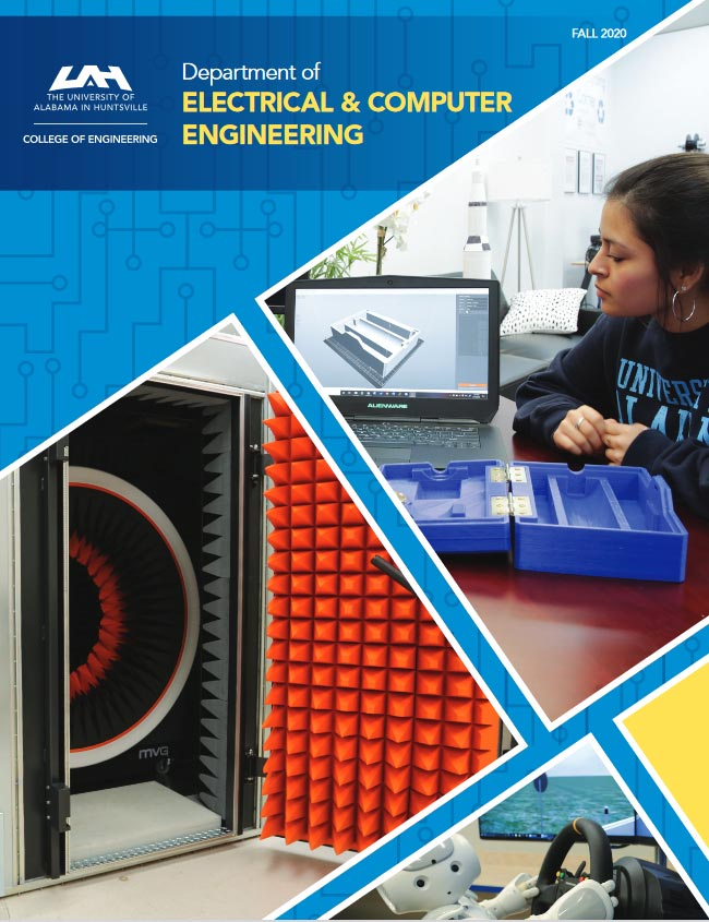 Electrical and Computer Engineering departments newsletter for fall of 2020