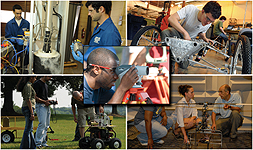 collage of engineering pictures