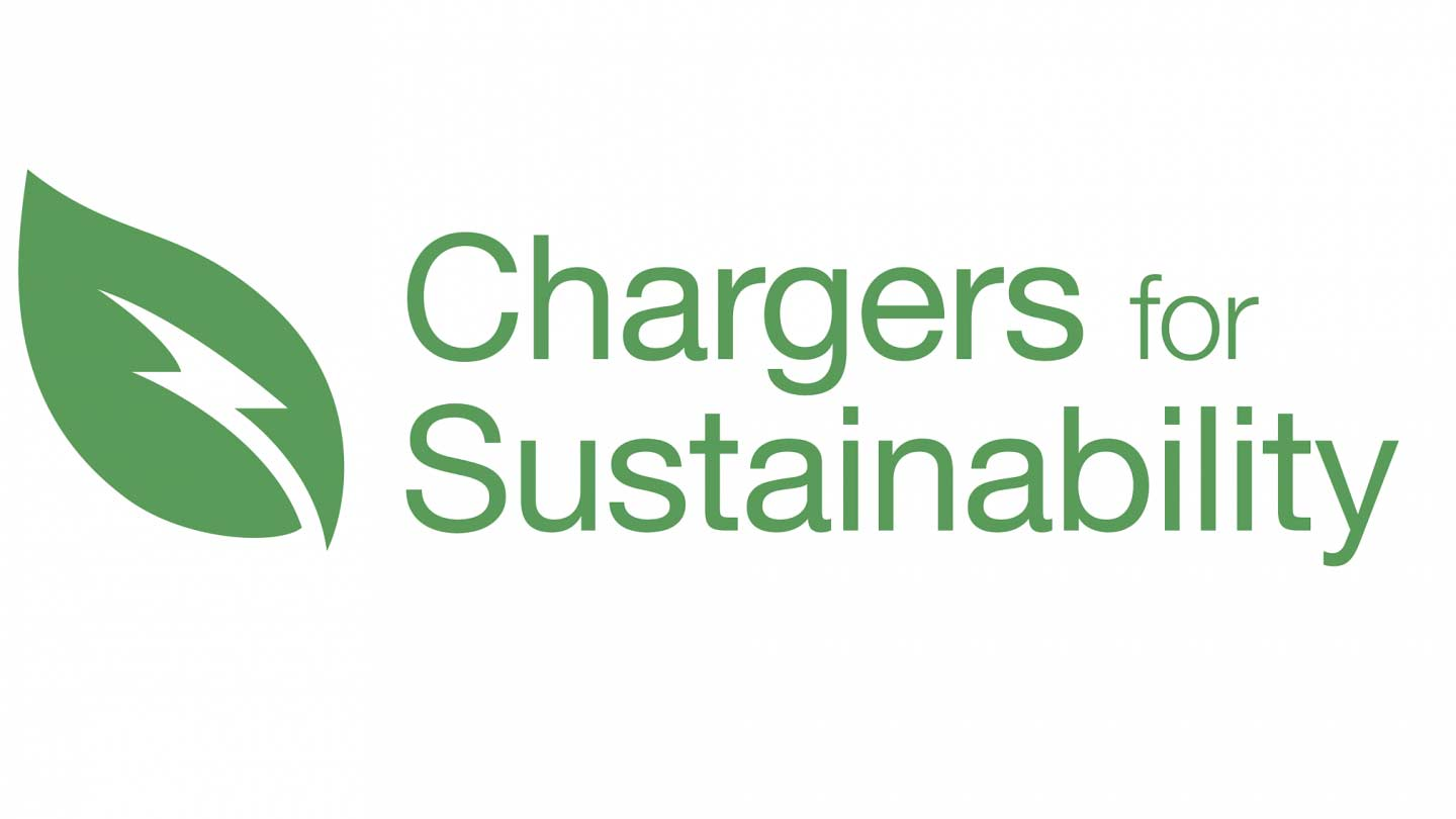 chargers for sustainability logo