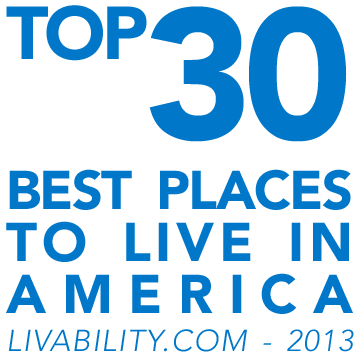 Top 30 best places to live in America - livability.com - 2013