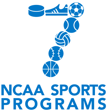 7 men's and 7 women's NCAA sports programs