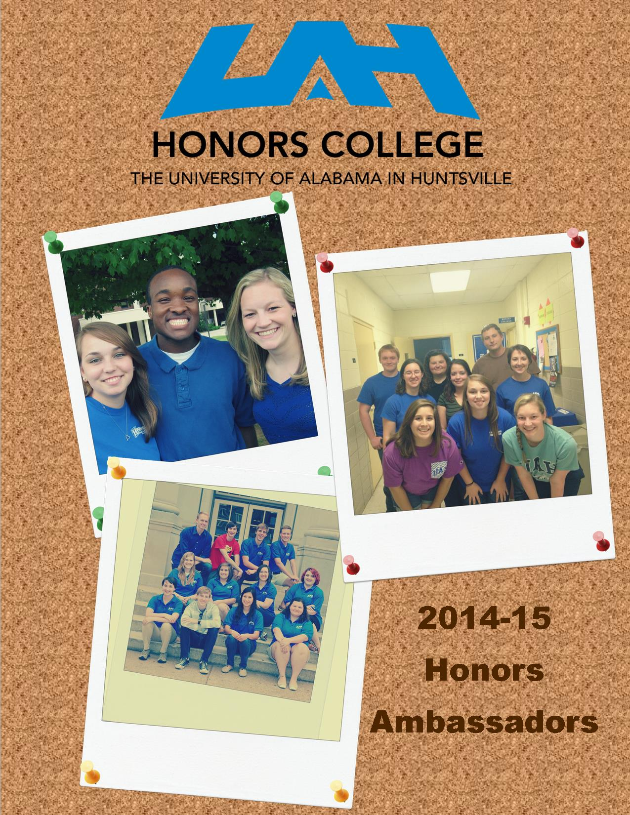 Honors Ambassador Profiles Cover Page