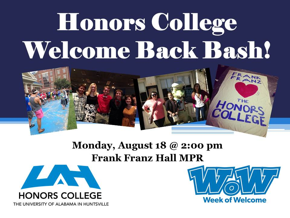 Honors College WOW Event Flyer