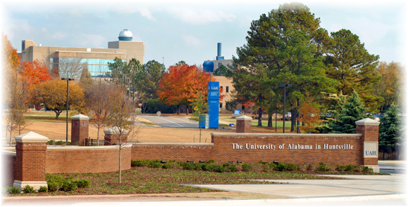 Entrance to UAHuntsville