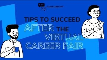 Tips for After the Virtual Career Fair
