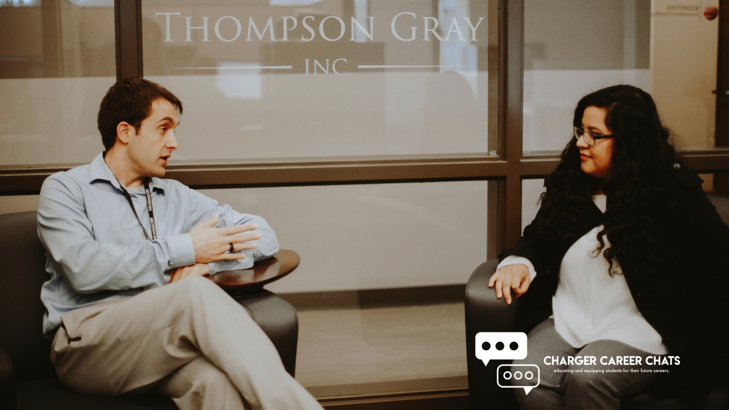 charger career chats with thompson gray