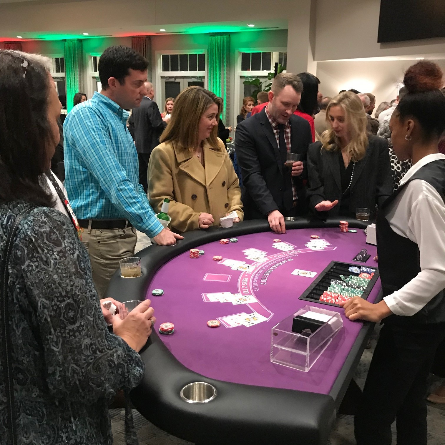thompson gray casino night