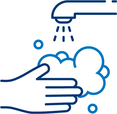 icon of hand washing