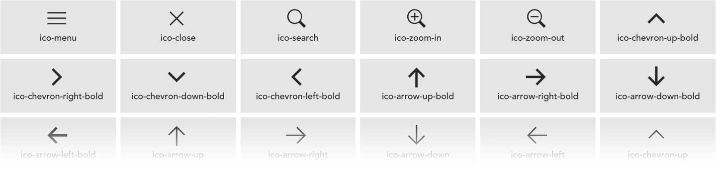 Image of usable icons