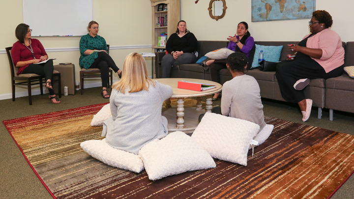 counseling center group session