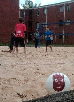 Volleyball Sandpit 2013