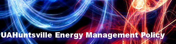 UAH Energy Management Policy Banner