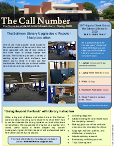 the call number spring 2020