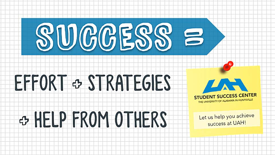 Success = Effort + Strategies + Help From Others