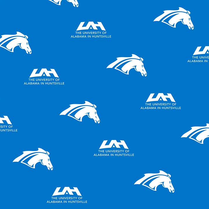 pattern of UAH and Chargers logos