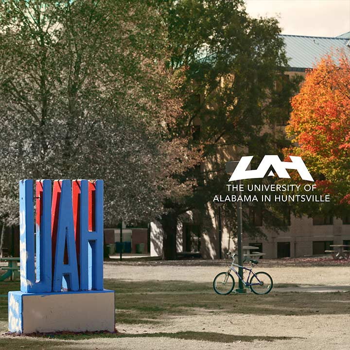 UAH statue on The Slab