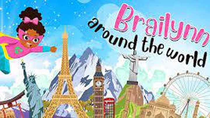 Brailynn around the world