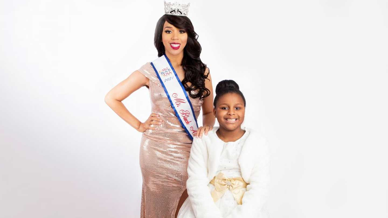 Brittnie Granville and daughter Brailynn