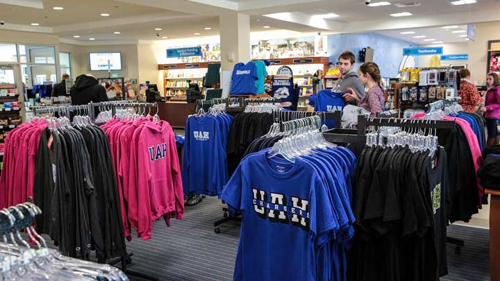 UAH Bookstore