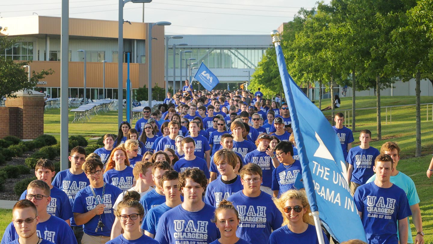 UAH Freshman Convocation