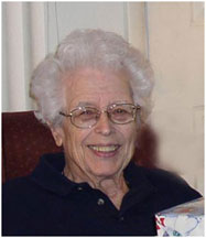 Kathryn Harris in her 80s.