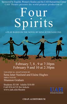 Four Spirits Poster