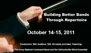 Building Better Bands Through Repertoire - Poster