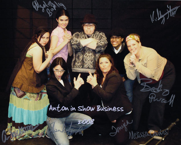 Anton in Show Business - Signed Cast Photo