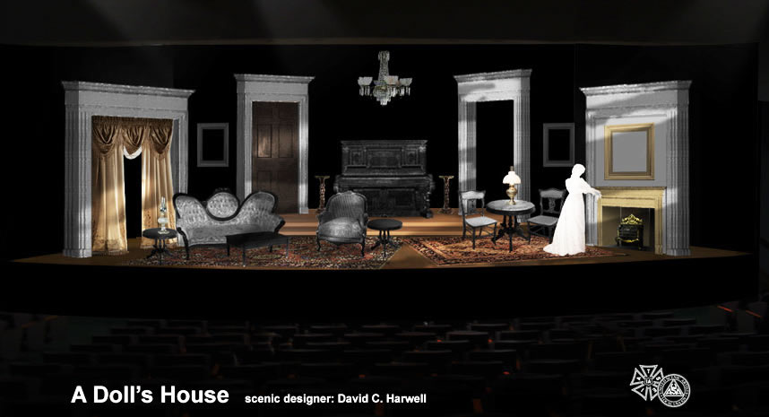 A Doll's House - Set Rendering