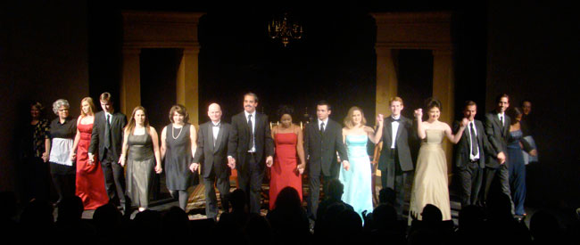 The Dining Room Production - Taking a bow.