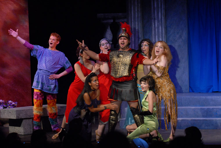 A Funny Thing Happened on the Way to the Forum Production 14