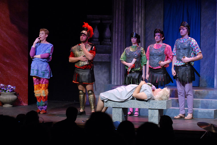A Funny Thing Happened on the Way to the Forum Production 15
