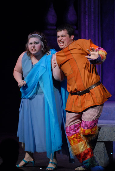 A Funny Thing Happened on the Way to the Forum Production 16