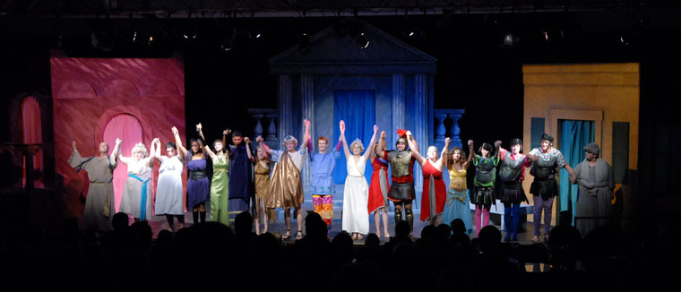 A Funny Thing Happened on the Way to the Forum Production 19