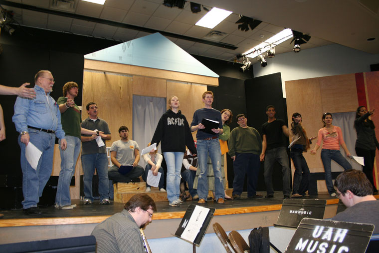 A Funny Thing Happened on the Way to the Forum Rehearsal 1