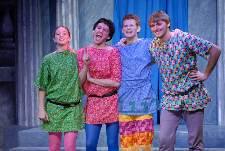 A Funny Thing Happened on the Way to the Forum Production 3
