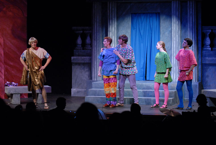 A Funny Thing Happened on the Way to the Forum Production 6