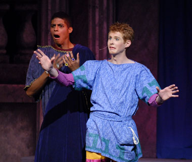 A Funny Thing Happened on the Way to the Forum Production 9