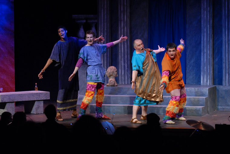 A Funny Thing Happened on the Way to the Forum Production 10