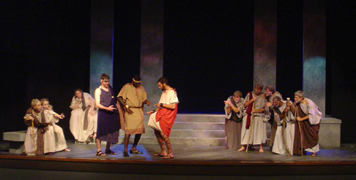 Lysistrata Production 4