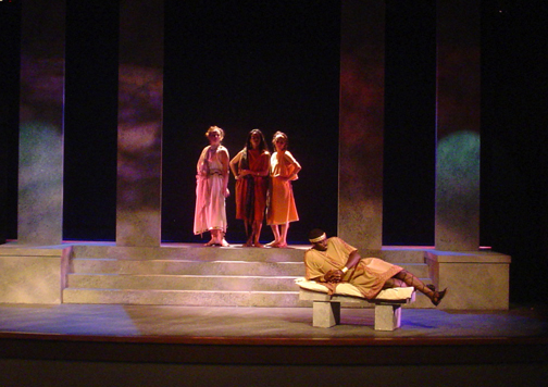 Lysistrata Production 8