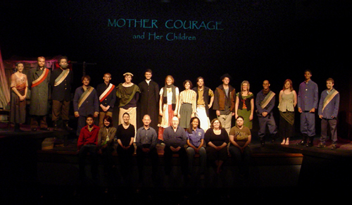 Mother Courage and Her Children - Cast Picture
