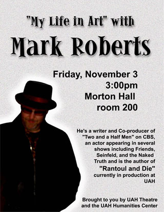 """My Life in Art"" with Mark Roberts Poster"