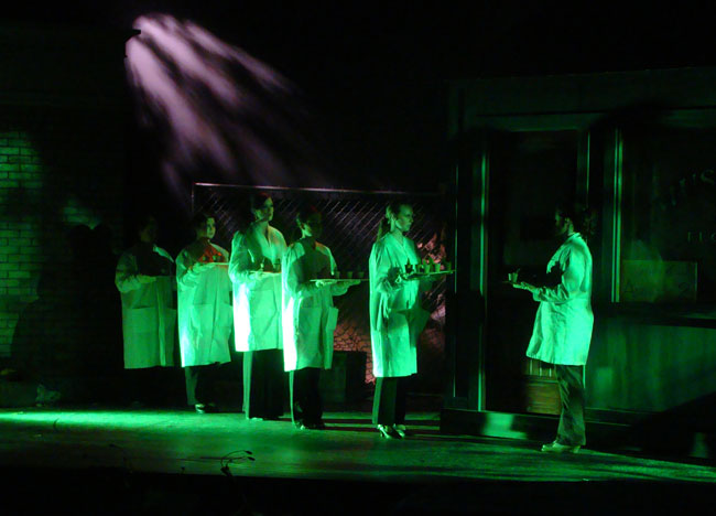 Little Shop of Horrors Production 26