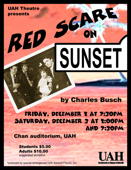 Red Scare on Sunset Poster