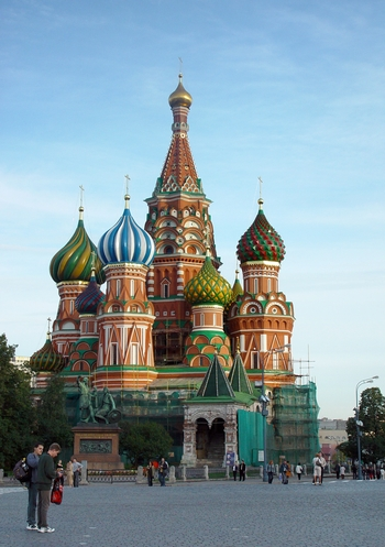 St. Basil Cathedral for Russian Page
