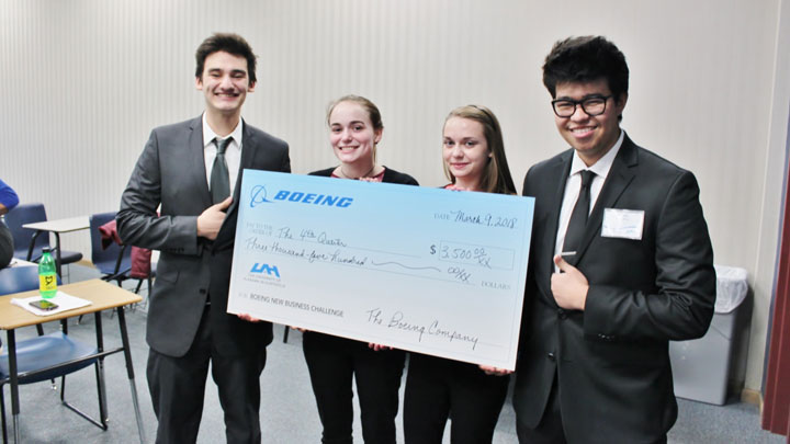 Boeing new business challenge winners