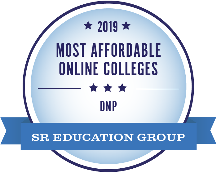 Awarded one of the most affordable online colleges for the DNP program in 2019